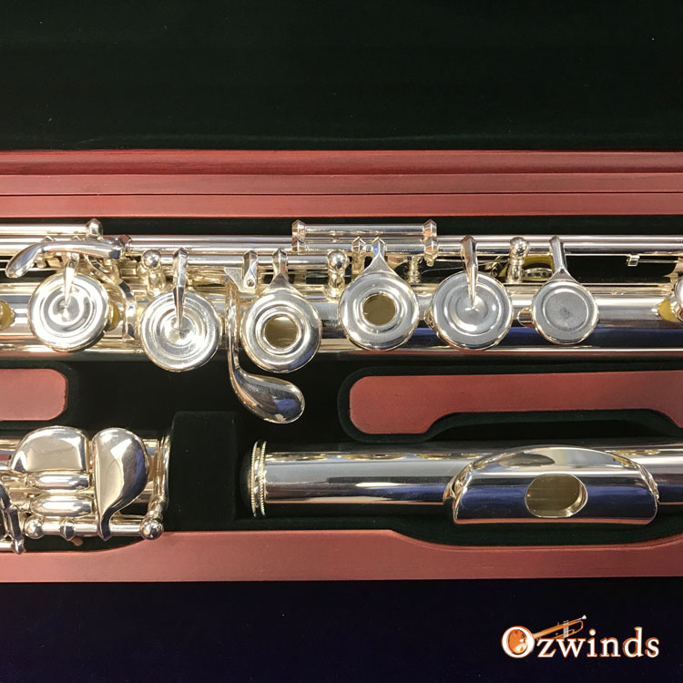 Pearl 695-RBE Dolce Flute with Forza Head Joint