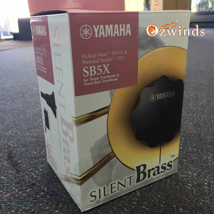 yamaha sbx7 silent brass mute for trombone. Black Bedroom Furniture Sets. Home Design Ideas