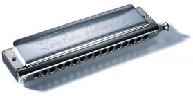 Larry Adler Prof. 16 Chromatic Harmonica (4 Octaves)