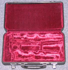 Jupiter Hard Shell Plastic Clarinet Case