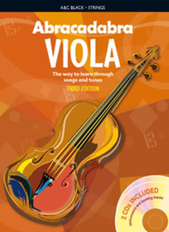 Abracadabra Viola Book/2CD 3rd Edition