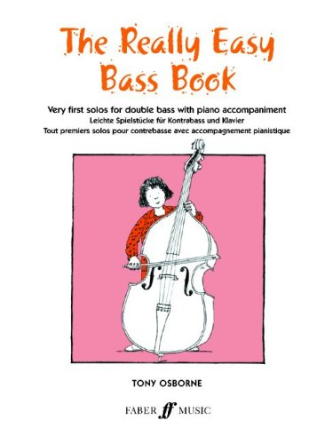 Really Easy Bass Book Double Bass/Piano