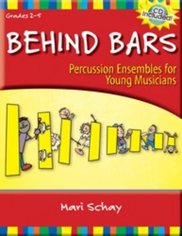 BEHIND BARS PERCUSSION ENSEMBLE BK/CD