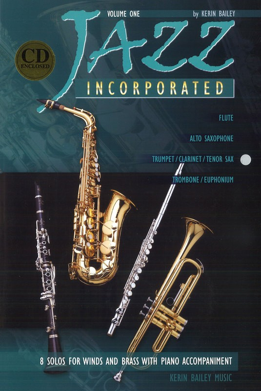 JAZZ INCORPORATED BK 1 TPT / CLA / TEN SAX & PNO