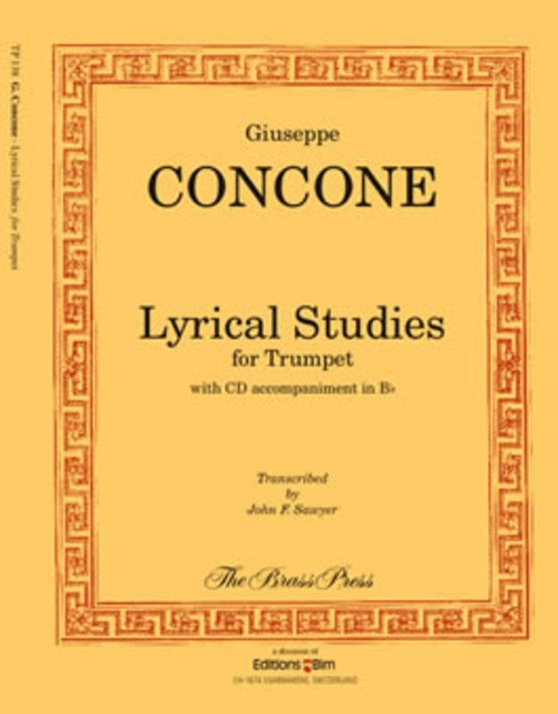 Lyrical Studies For Trumpet Book/CD