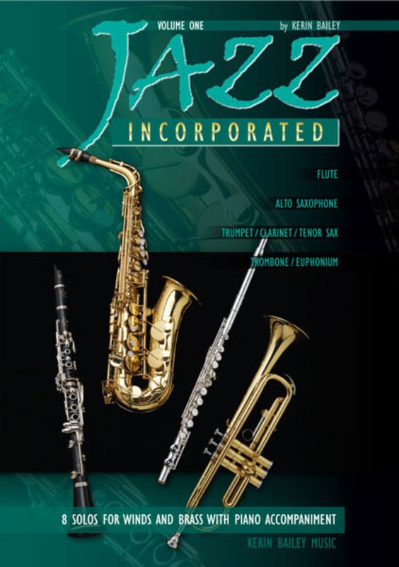 JAZZ INCORPORATED BK 1 TROMBONE/PIANO