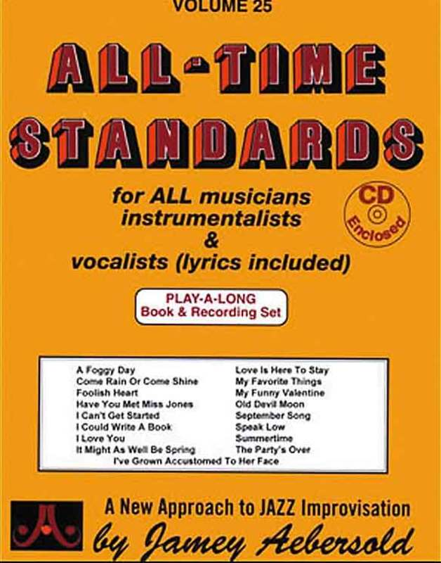 ALL TIME STANDARDS 17 BK/2CDS NO 25