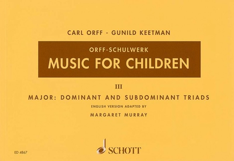 MUSIC FOR CHILDREN BK 3 ED MURRAY