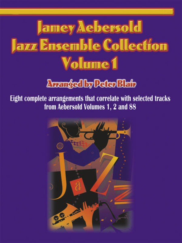 AEBERSOLD JAZZ ENSEMBLE VOL 1 ALTO SAX 2