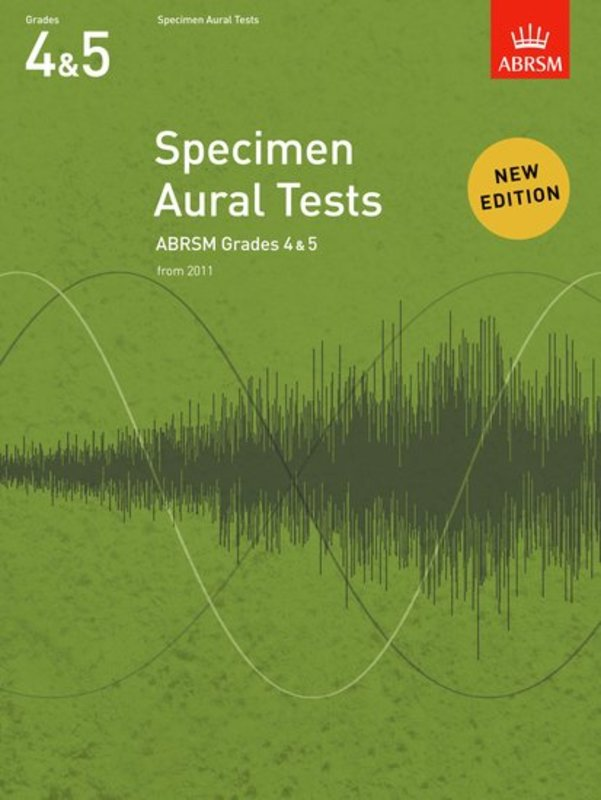 A B SPECIMEN AURAL TESTS GR 4-5 FROM 2011