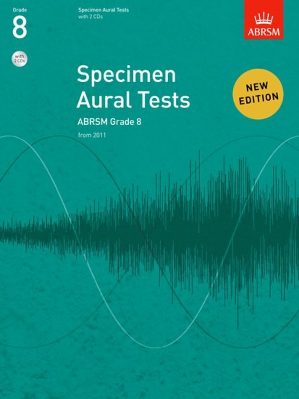 A B SPECIMEN AURAL TESTS GR 8 BK/CD FROM 2011