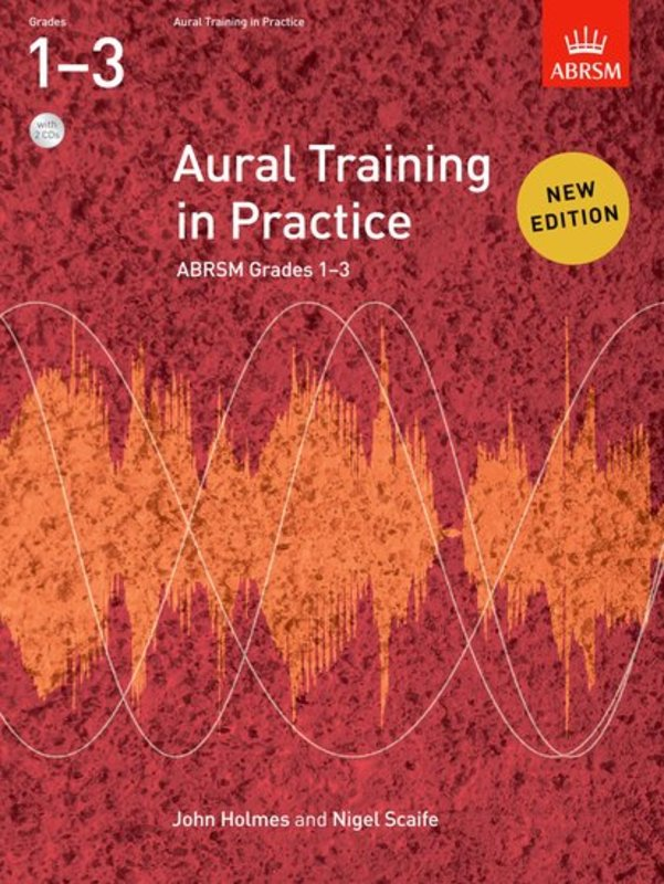 ABRSM AURAL TRAINING IN PRACTICE GR 1-3 BK/CD