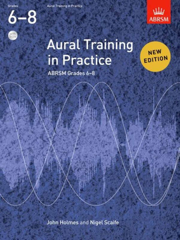 ABRSM AURAL TRAINING IN PRACTICE GR 6-8 BK/CD