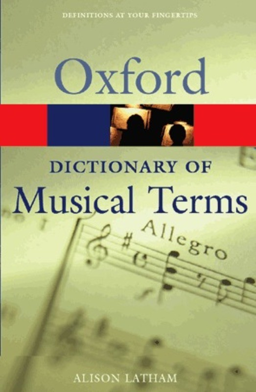 OXFORD DICTIONARY OF MUSICAL TERMS PB