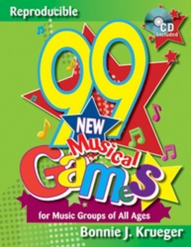 99 NEW MUSICAL GAMES BK/CD