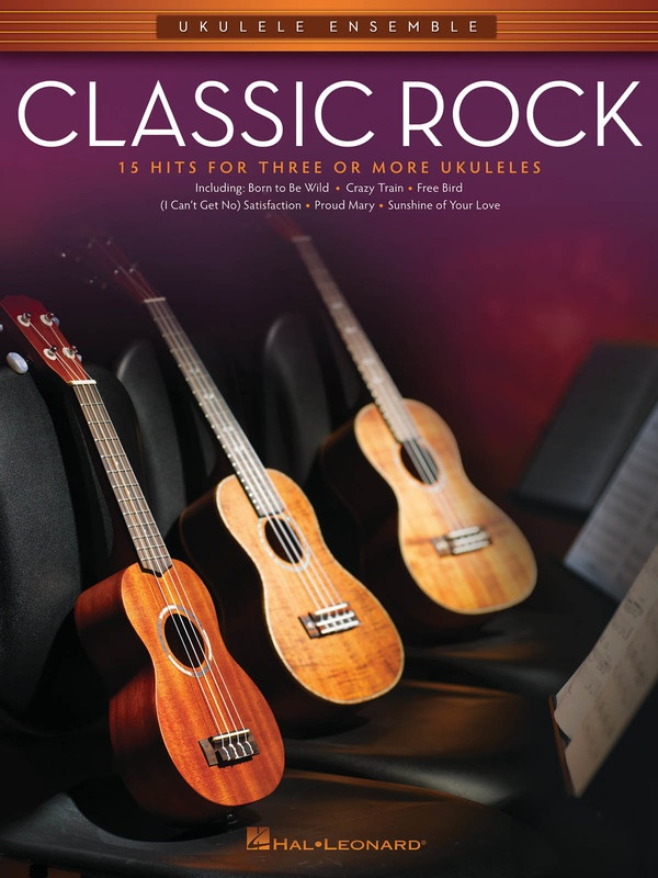 CLASSIC ROCK UKULELE ENSEMBLE MID INTERMEDIATE