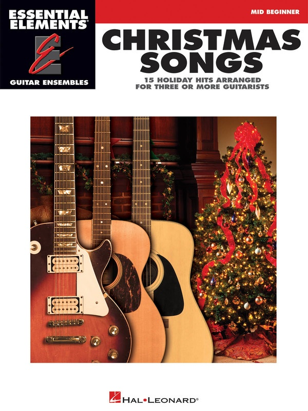 CHRISTMAS SONGS GUITAR ENSEMBLE EE