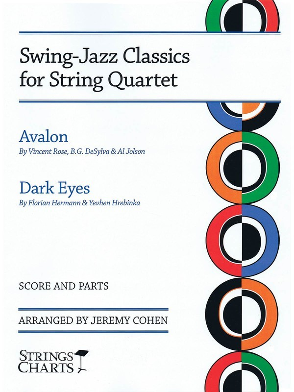 AVALON & DARK EYES SWING JAZZ STRING QUARTET