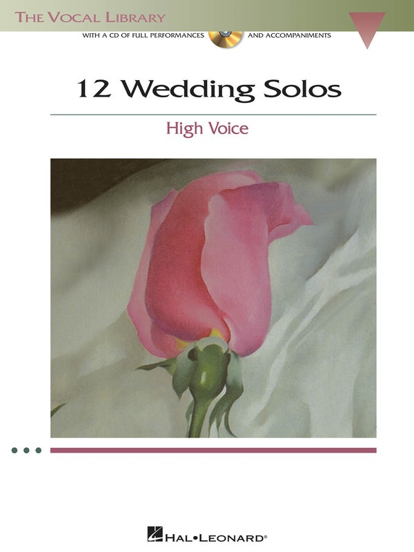 12 Wedding Solos High Voice Bk/cd