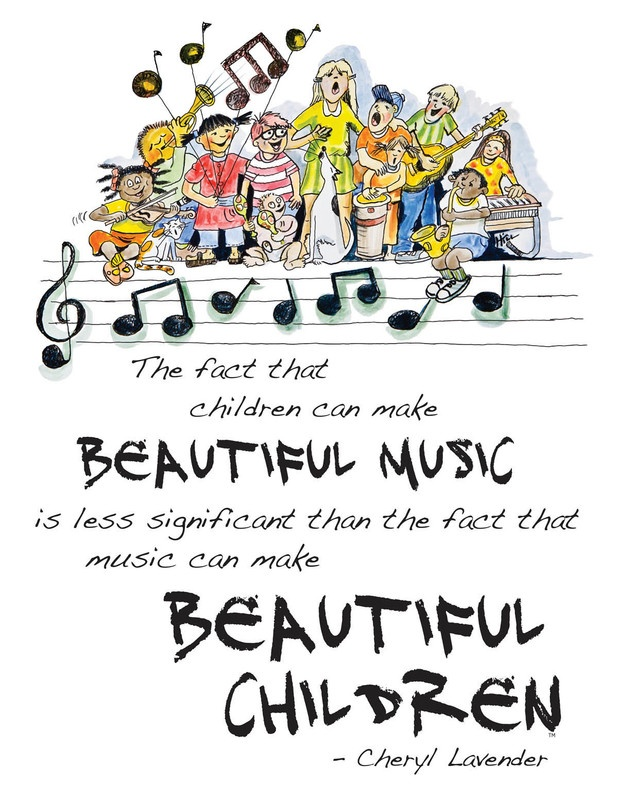 BEAUTIFUL MUSIC BEAUTIFUL CHILDREN POSTER