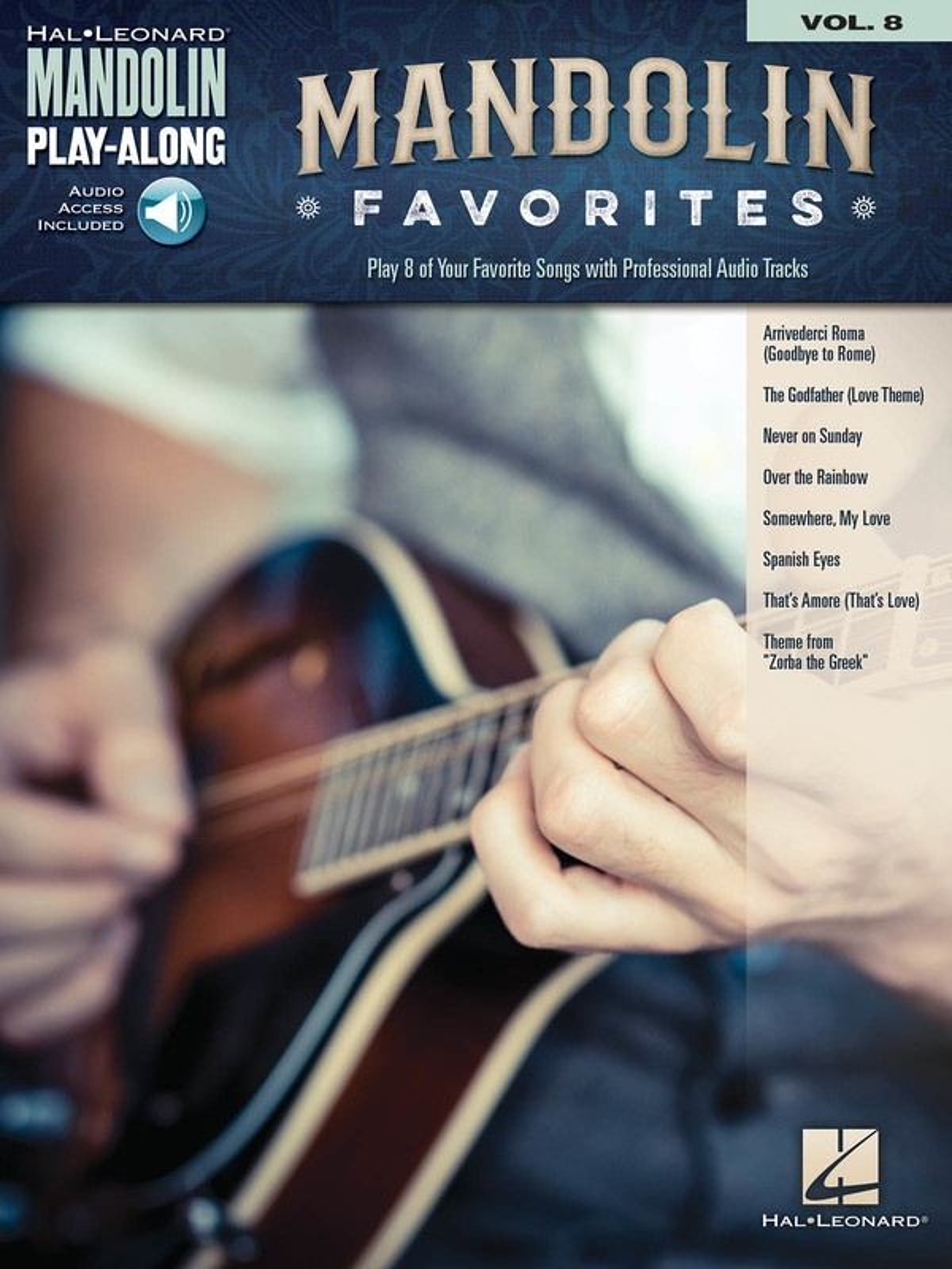 Mandolin Favorites Playalong V8 Bkola