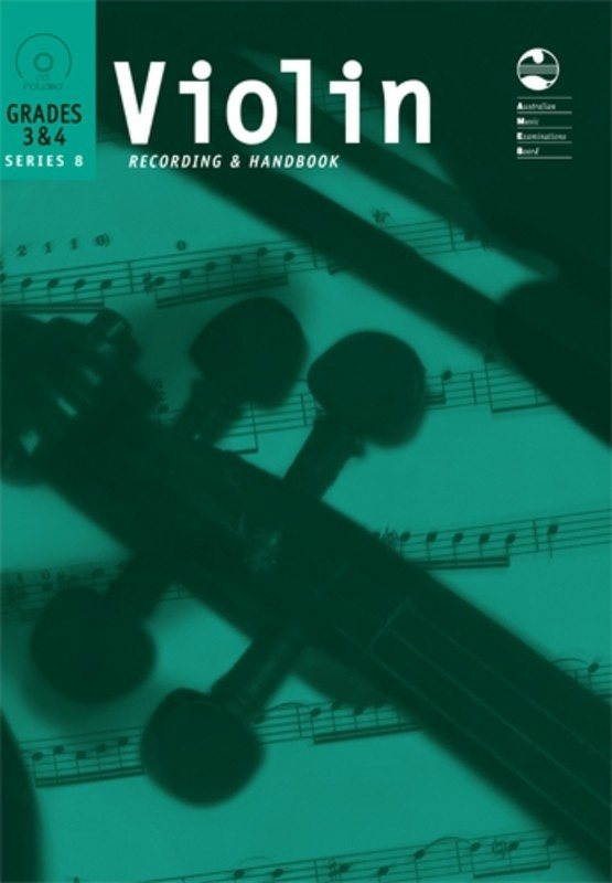 AMEB VIOLIN GR 3 TO 4 SERIES 8 CD/HANDBOOK