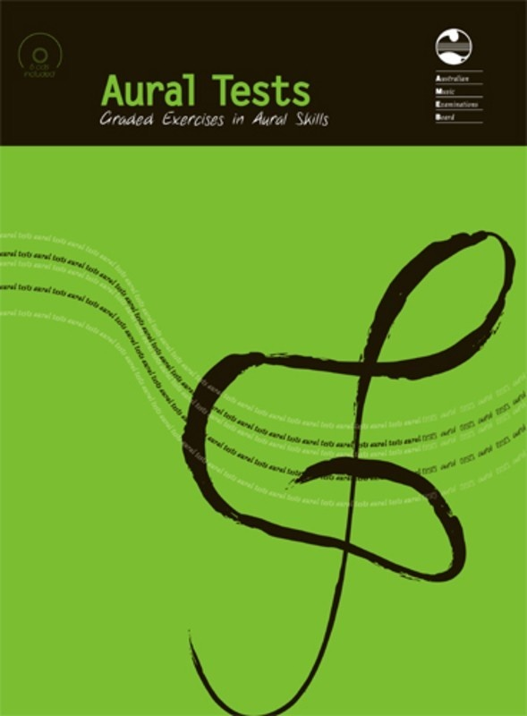 AMEB AURAL TESTS BOOK/6 CDS 2002