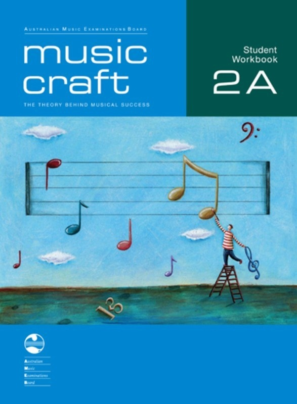 AMEB MUSIC CRAFT STUDENT WORKBOOK GR 2 BK A BK/2CDS