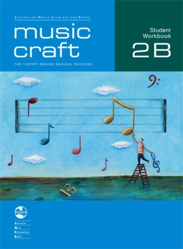 AMEB MUSIC CRAFT STUDENT WORKBOOK GR 2 BK B BK/2CDS