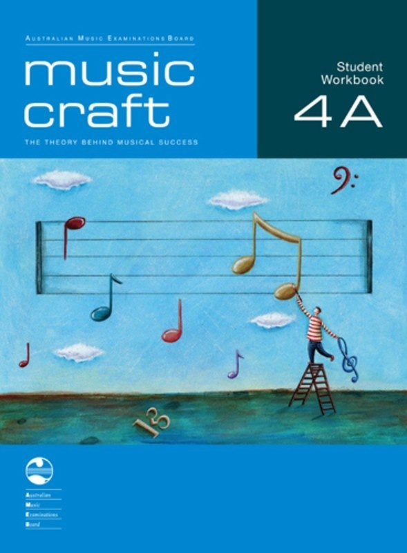 AMEB MUSIC CRAFT STUDENT WORKBOOK GR 4 BK A BK/2CDS
