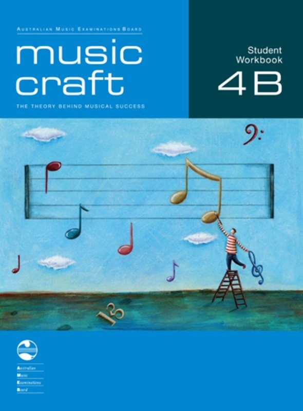 AMEB MUSIC CRAFT STUDENT WORKBOOK GR 4 BK B BK/2CDS