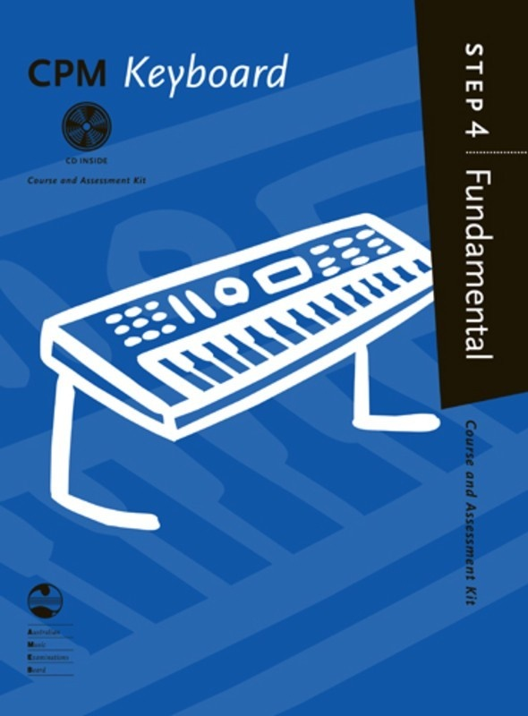 AMEB CPM Keyboard Fundamental Step 4 Book/CD