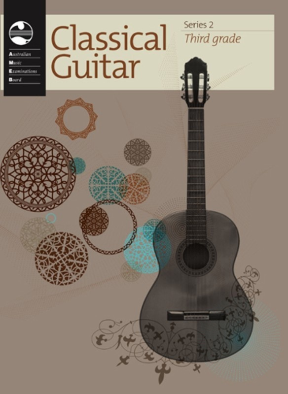 AMEB CLASSICAL GUITAR GRADE 3 SERIES 2