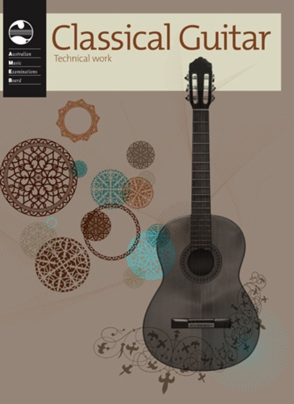 AMEB CLASSICAL GUITAR TECHNICAL WORKBOOK 2011