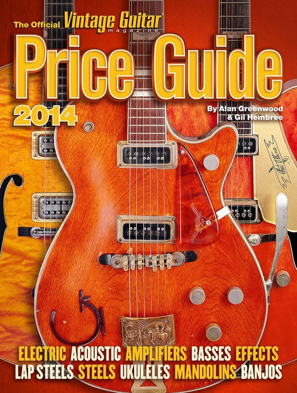 2014 OFFICIAL VINTAGE GUITAR PRICE GUIDE