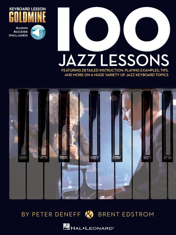 100 Jazz Lessons Goldmine Series Keyboard