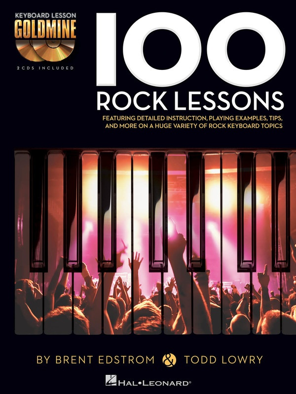 100 Rock Lessons Goldmine Series Keyboard