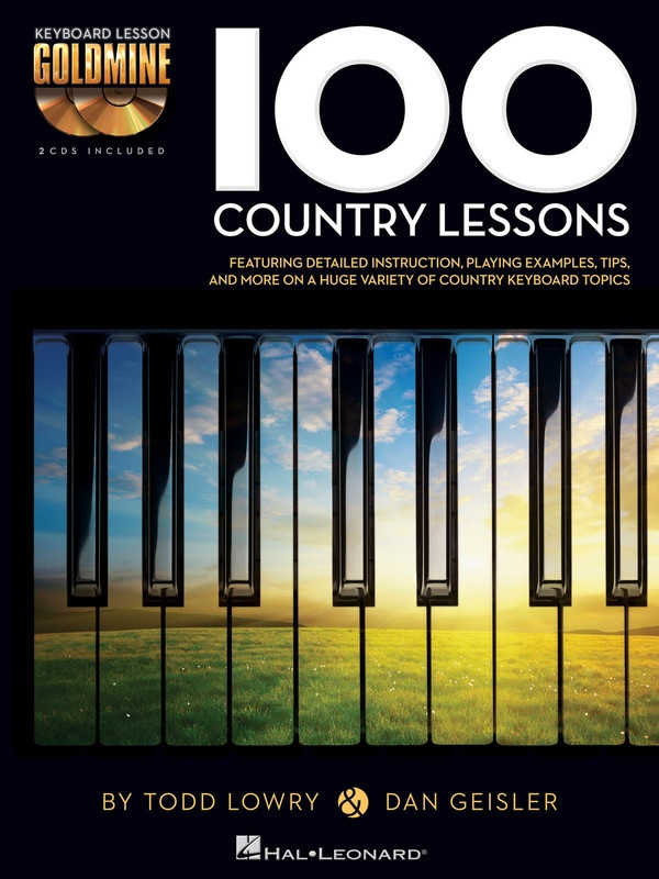100 Country Lessons Goldmine Keyboard