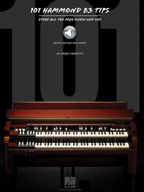 101 HAMMOND B-3 TIPS BK/OLA