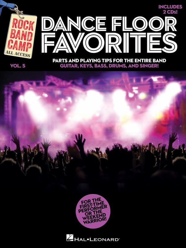 DANCE FLOOR FAVORITES ROCK BAND CAMP V5 BK/CD