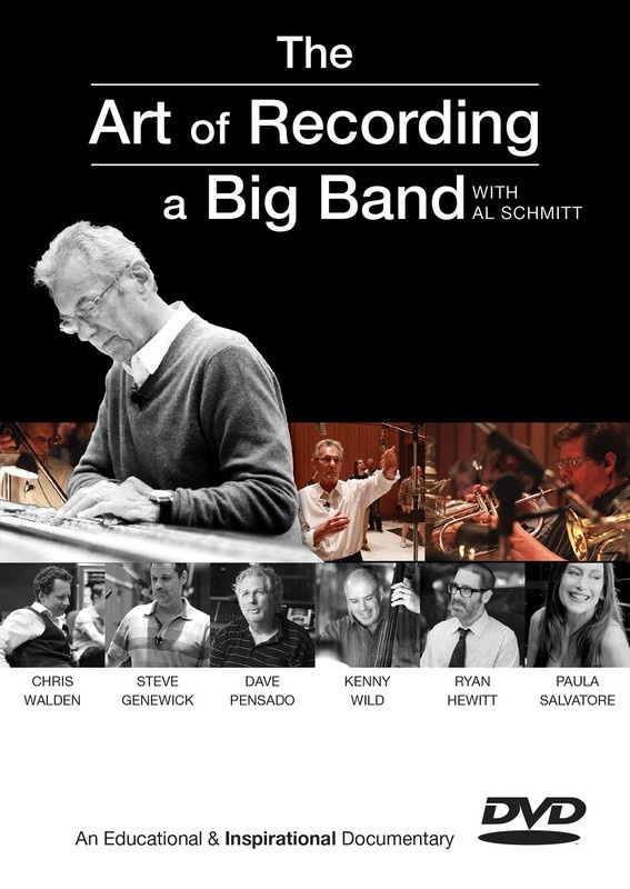 ART OF RECORDING A BIG BAND DVD