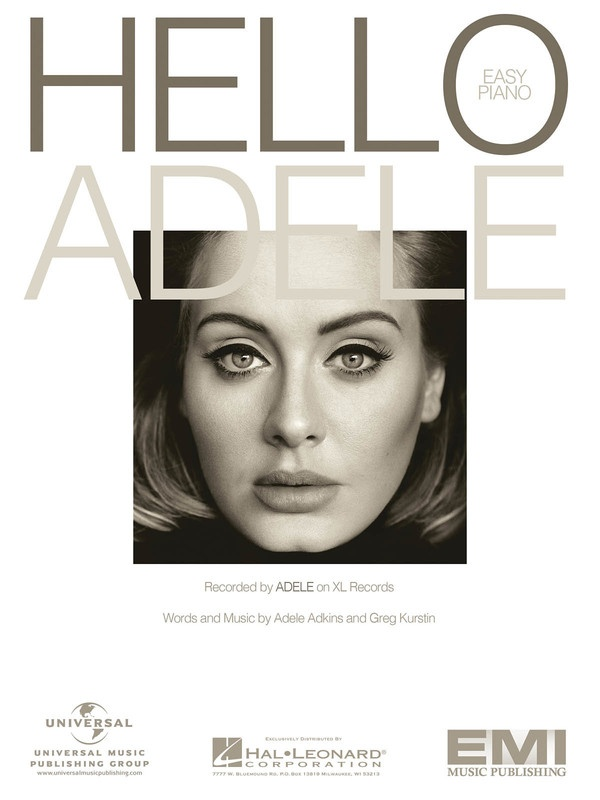 ADELE - HELLO EASY PIANO S/S
