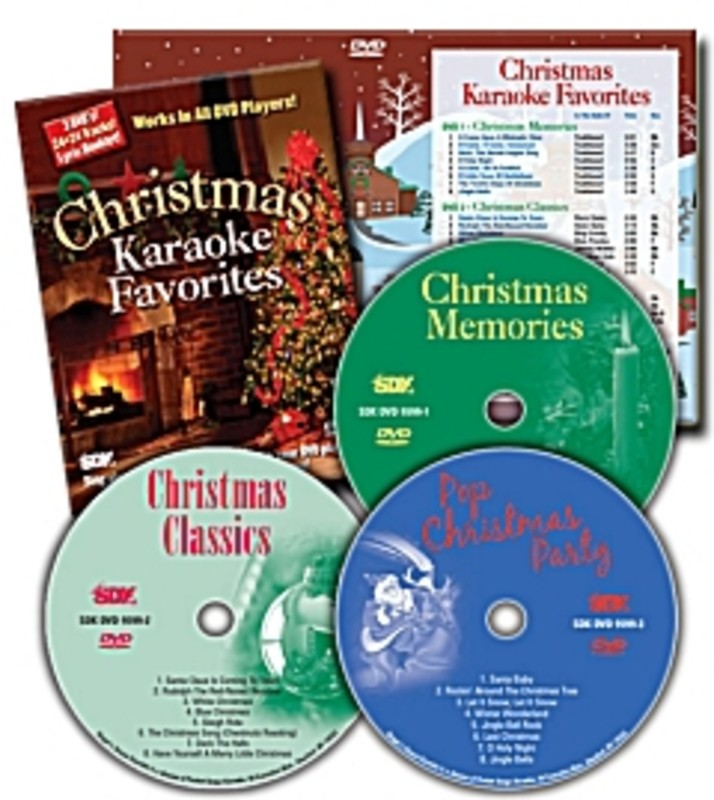 SDK CHRISTMAS KARAOKE FAVOURITES 3DVD PACK