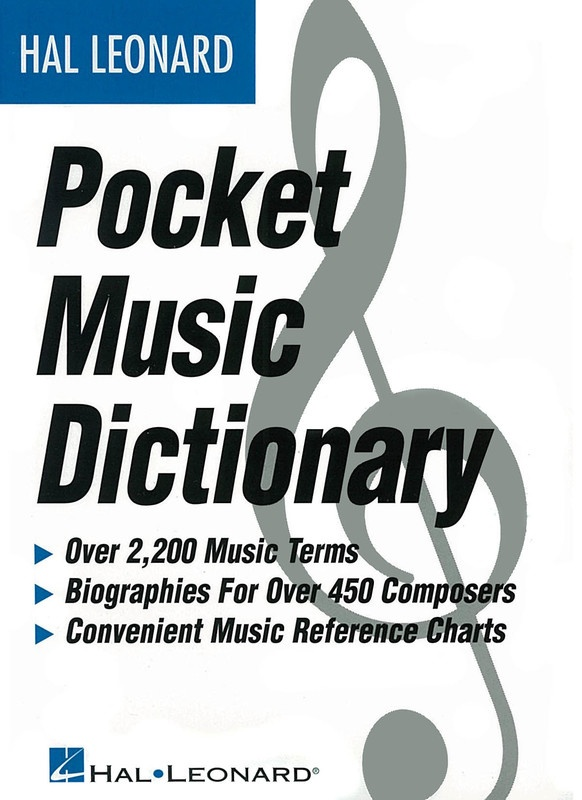 HAL LEONARD POCKET MUSIC DICTIONARY