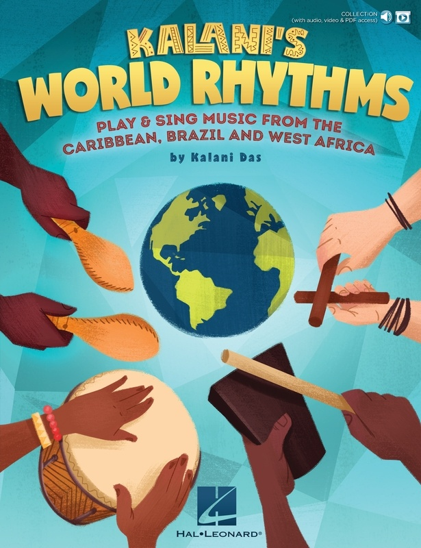 KALANIS WORLD RHYTHMS BK/OLA