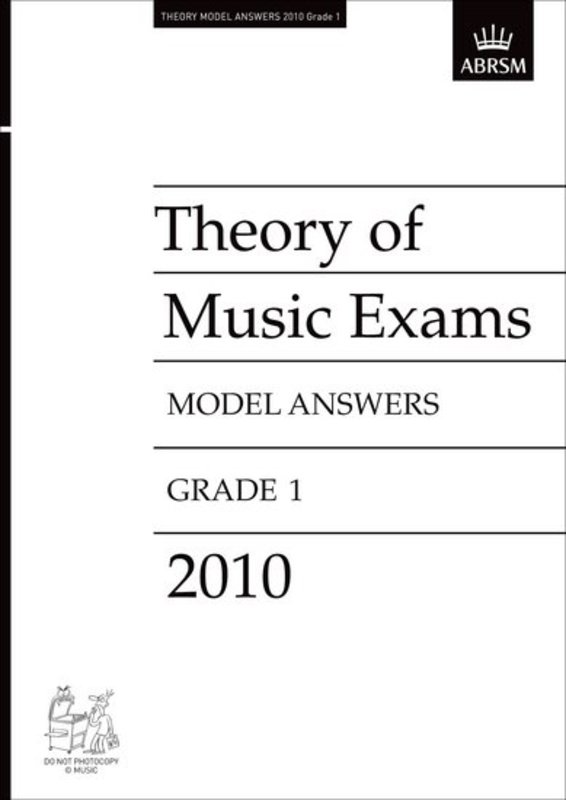 A B THEORY OF MUSIC ANSWERS GR 1 2010
