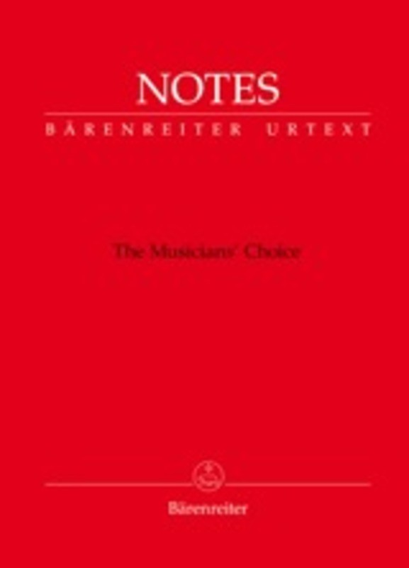 Barenreiter Manuscript with Mozart Red Cover