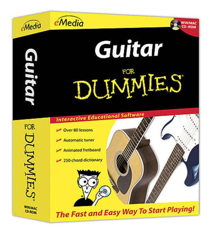GUITAR FOR DUMMIES WIN/MAC