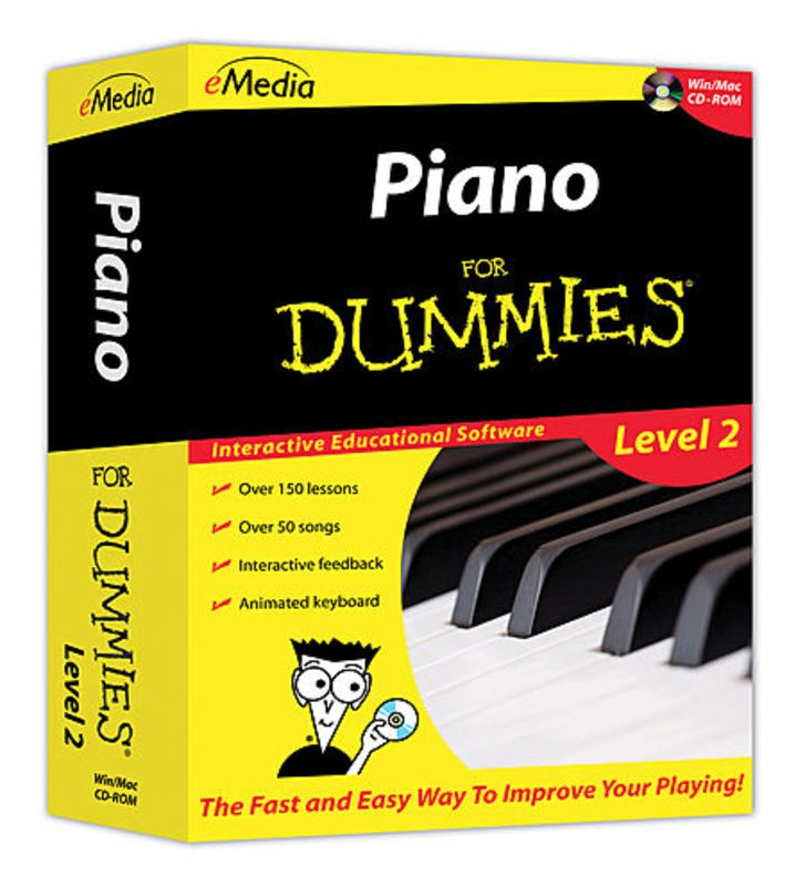 PIANO FOR DUMMIES LEVEL 2 WIN/MAC