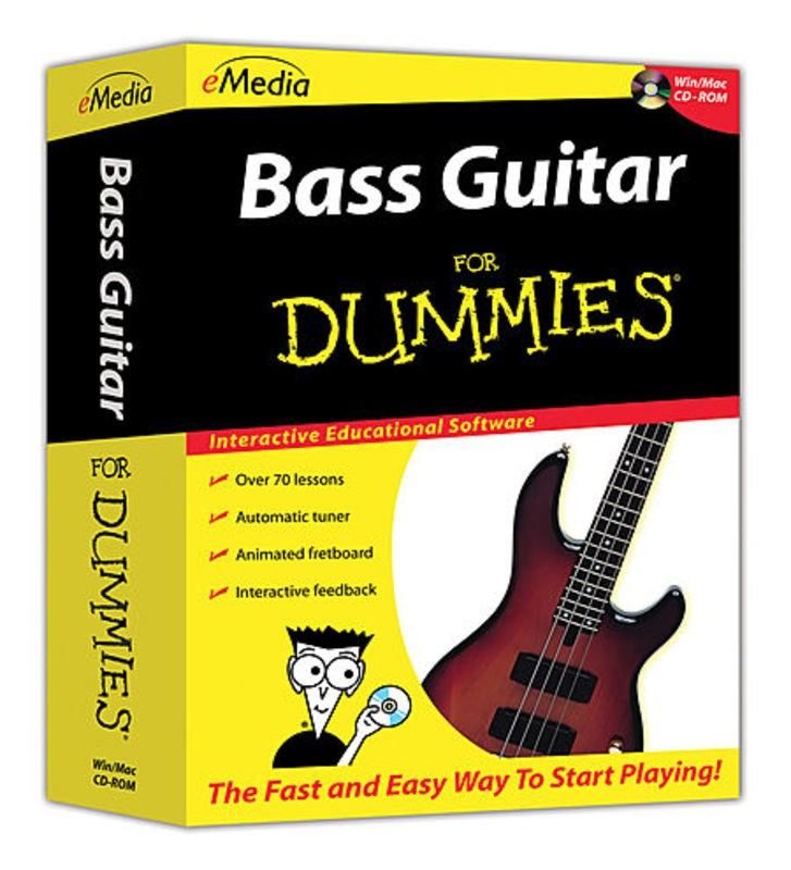 BASS GUITAR FOR DUMMIES WIN MAC